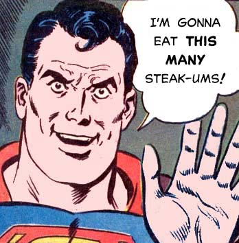 Superman-lunch