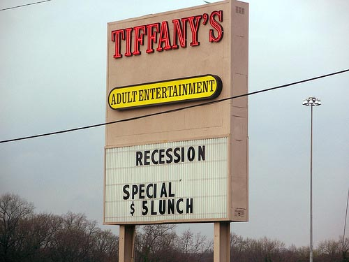 Recession-lunch